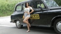Female Fake Taxi Billie Star Time To Party in Billie's Taxi