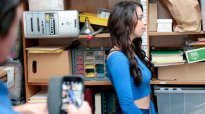 ShopLyfter Case No. 5849684 Taylor May Blackmailed Brunette Teen
