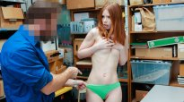 ShopLyfter Case No. 5587980 Pepper Hart Redhead Teen Blackmailed