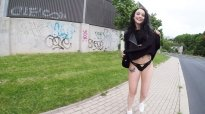Public Agent Porn Full Alessa Savage Outdoor Flashing And Creampie