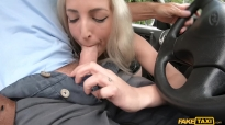 Fake Taxi Liz Rainbow Sucking Cock While Driving