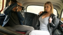 FemaleFakeTaxi Nathaly Cherrie Backseat Photoshoot