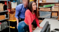 ShopLyfter Full Case No. 1128285 Lilly Hall Doggystyle Blackmail Fuck