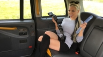 Barbie Sins Fake Taxi Ass Stretching With A Dildo