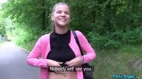 PublicAgent Porn Sarah Kay Sex In The Woods
