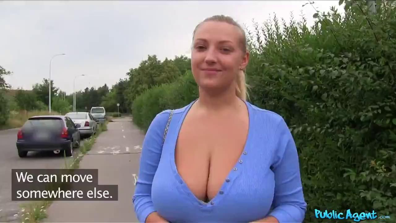 Public Agent Crystall Swift Blonde WIth Big Tits