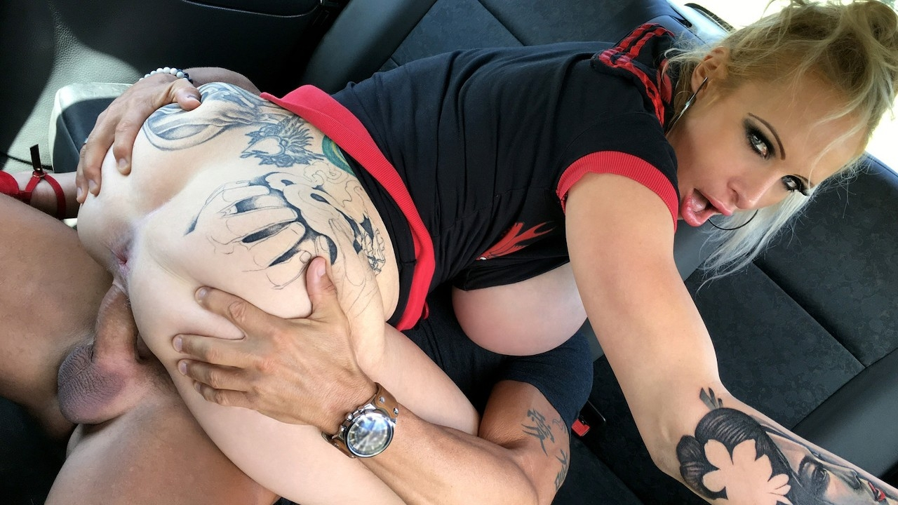 Fake Taxi Sophie Anderson Busty Dirty Talking Squirting MILF