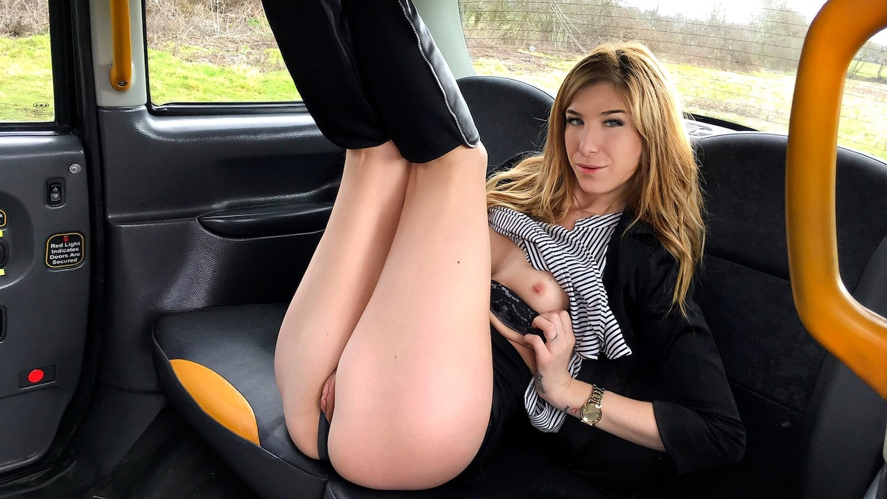 Fake Taxi Melissa Medisson Brunette takes deep anal cock